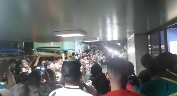 Vasco chega em Teresina para jogo contra o Altos e diz: 'Piauí é Vasco'