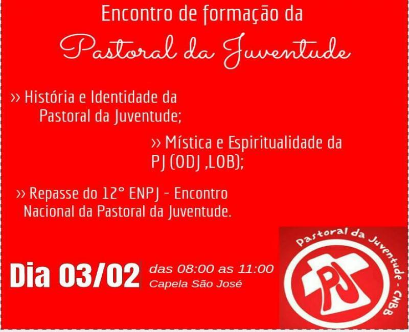 Formação da Pastoral da Juventude Gilbués-Pi