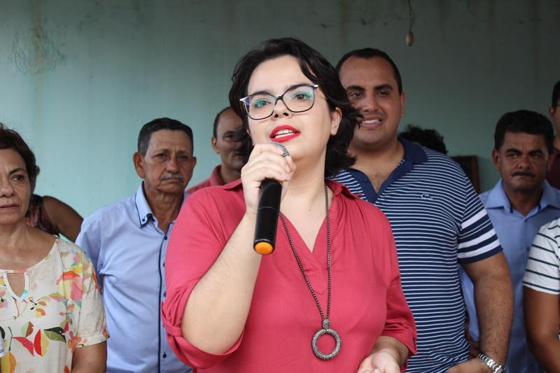Valéria Dias teve pré-candidatura lançada em Santana do Piauí