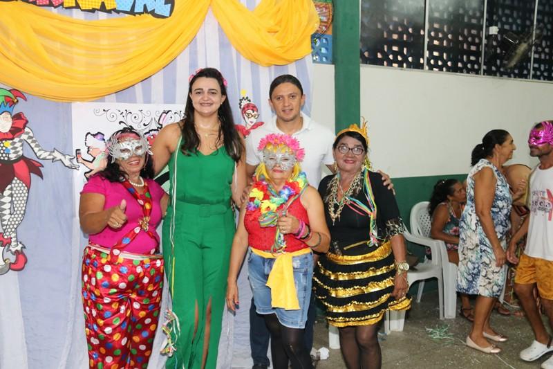 Prefeitura de Água Branca promove Carnaval da Melhor Idade