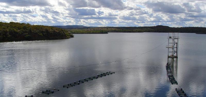 Nível da Barragem de Bocaina atinge 43 milhões m³ de água após fortes chuva
