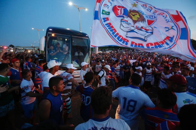 Fortaleza embarca para 1ª disputa internacional