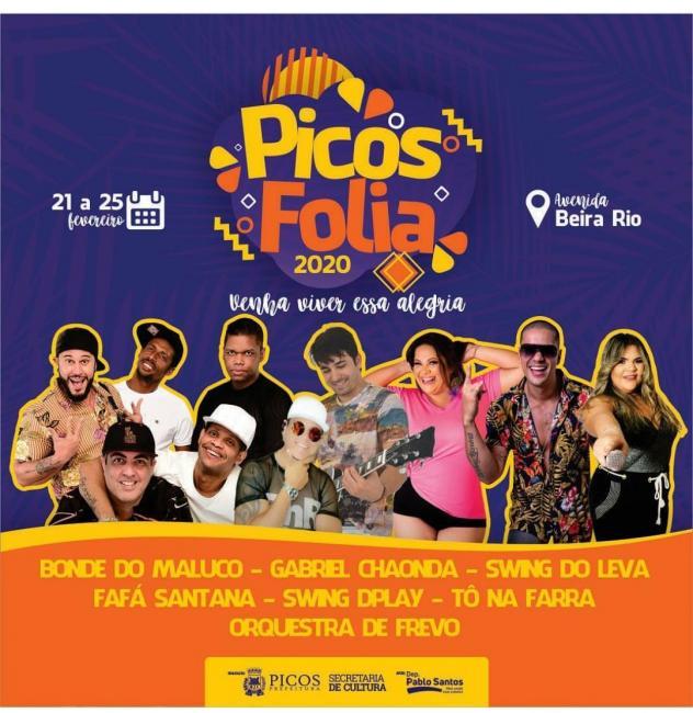 Prefeitura Municipal de Picos lança programação do carnaval 2020