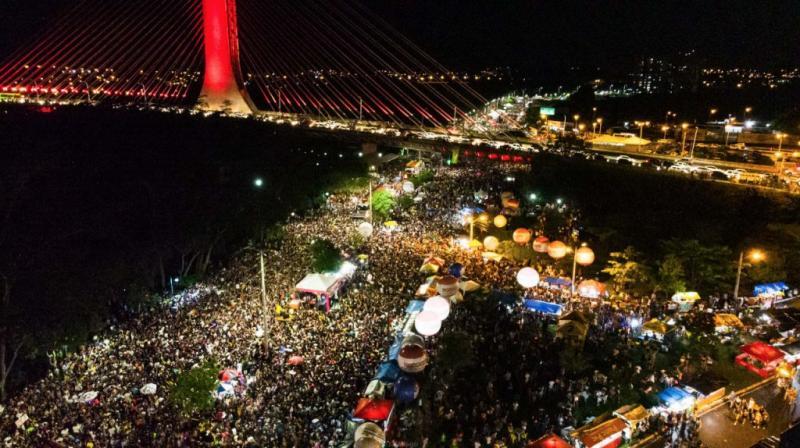 Festa 'Ressaca do Corso' será realizada no Encontro dos Rios