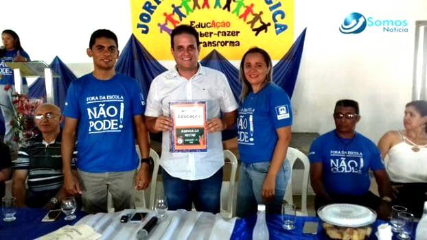 'Nucleação de escolas de Amarante é necessário', diz prefeito na abertura da Jornada Pedagógica