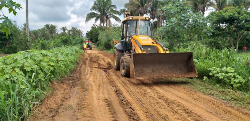 Prefeitura de Lagoinha realiza Obras de Recuperação em estrada do município