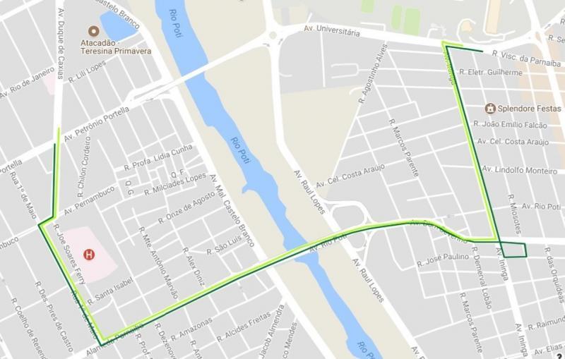 Seis linhas de ônibus mudarão itinerário durante o Corso