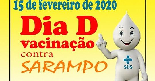 Cocal | SMS promove Dia 'D' de vacinação contra o Sarampo