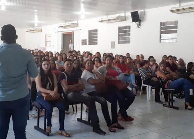 Saúde de Cocal promove encontro com os profissionais da Atenção Primária