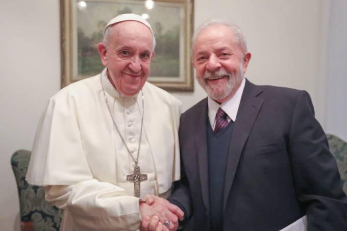 Papa Francisco e Lula Ricardo Stuckert/.