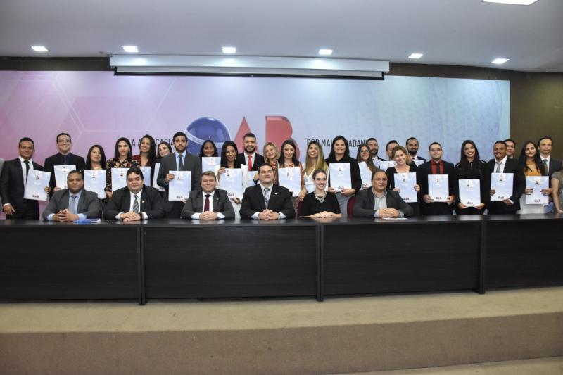 45 Novos Advogados (as) recebem carteira profissional na OAB-PI