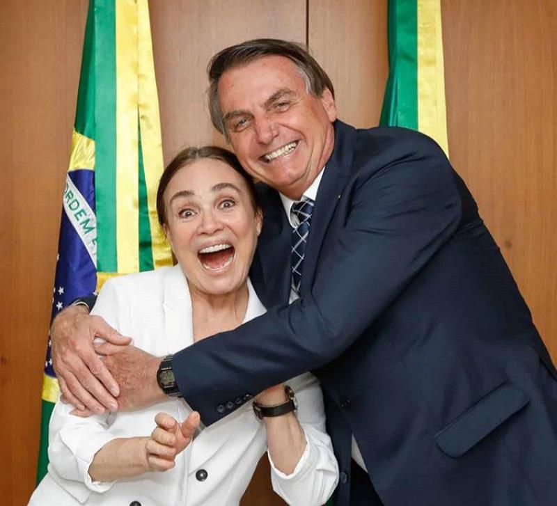 Regina Duarte acerta 'divórcio' com a Globo