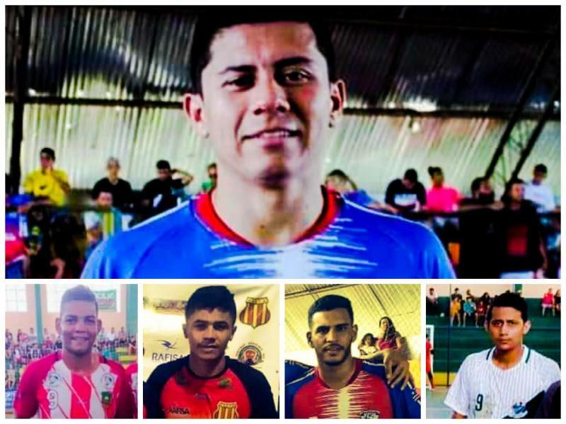 Os cinco atletas na briga pela artilharia da XX Copa Norte de Futsal 2020