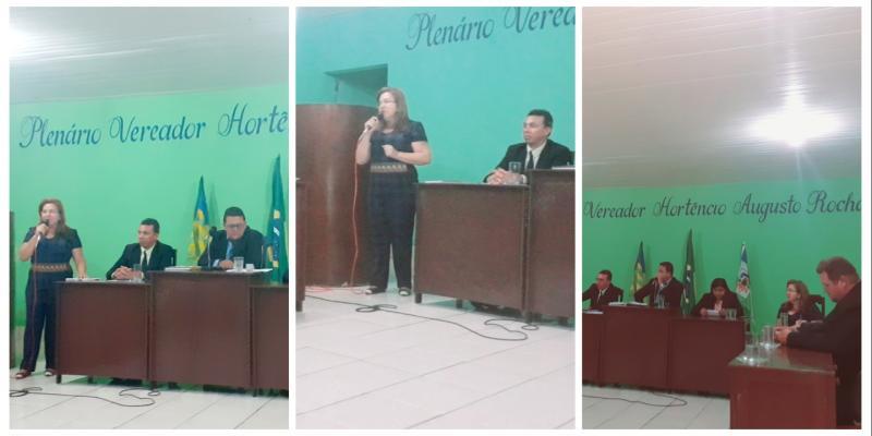 Prefeita Vilma Lima participa da abertura dos trabalhos do legislativo