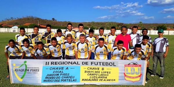 II Regional de Futebol: Luzilândia e Magalhães estreiam com empate
