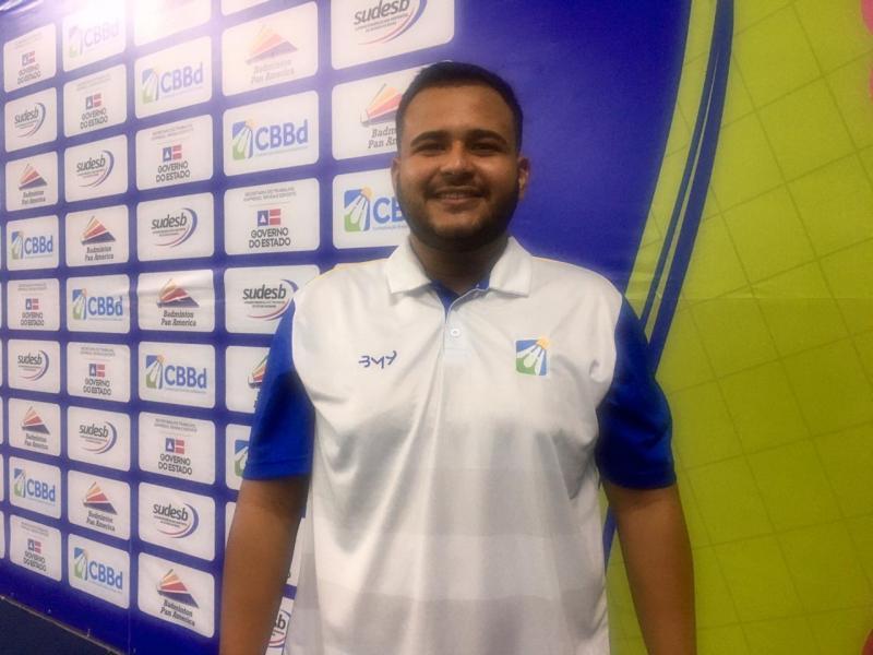 Lagopiense participa de campeonato internacional de Badminton