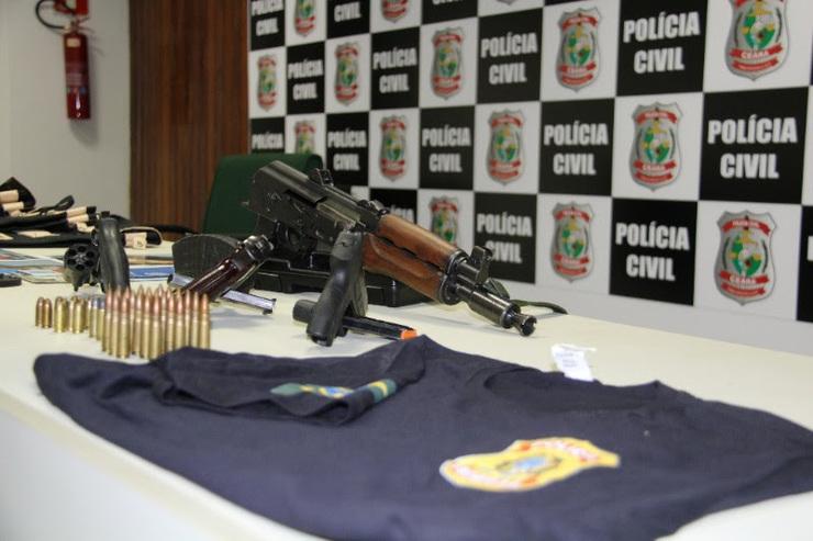 Grupo que usava fardas da PF para assaltos milionários no PI e CE é preso