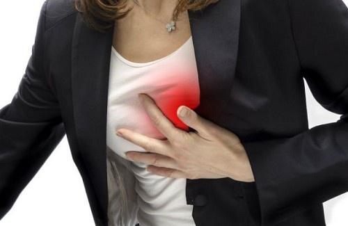Os sintomas de problemas cardíacos nas mulheres