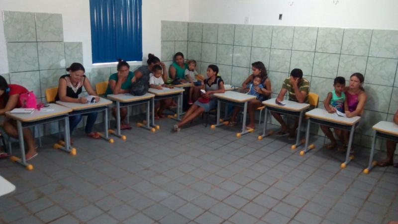 Secretaria de educação de Lagoinha realiza reuniões com famílias nas escolas