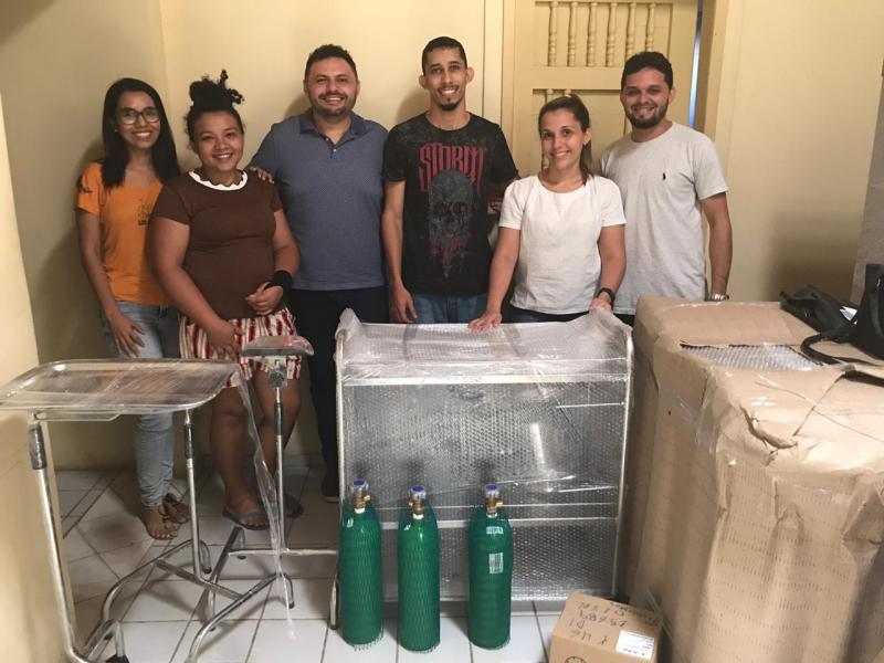 Prefeitura de Monsenhor Gil entrega novos equipamentos para Saúde