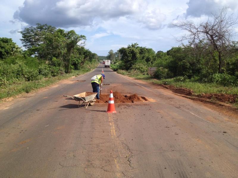 Governo do PI intensifica recuperação de rodovias durante o período chuvoso