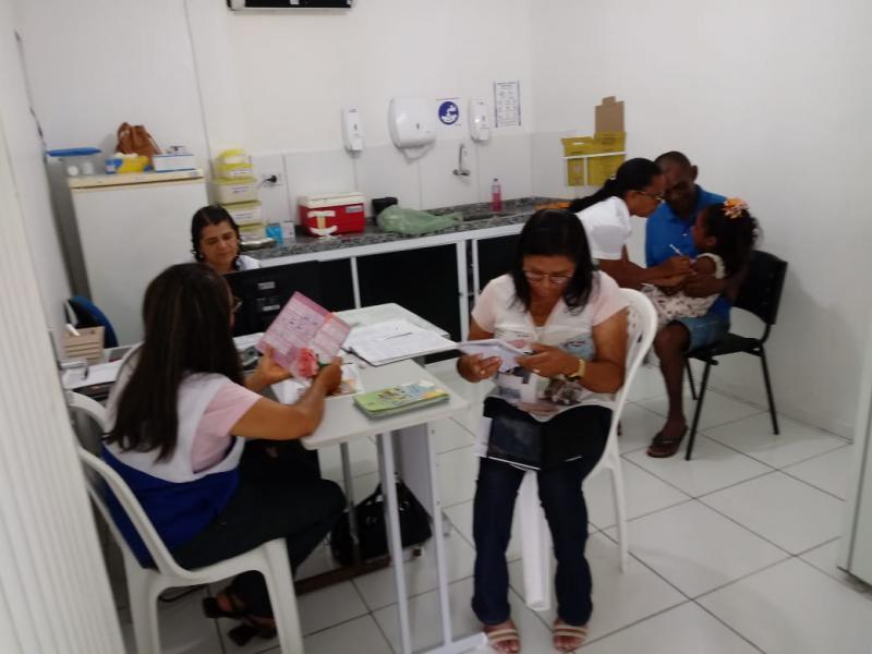 Dia D de vacinação mobiliza população de Oeiras contra o sarampo