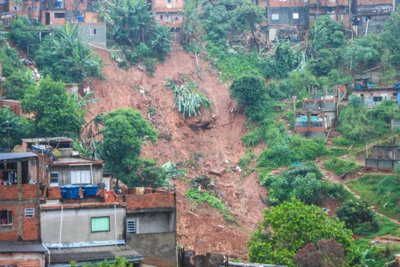 Criança piauiense morre após deslizamento de terra em São Paulo
