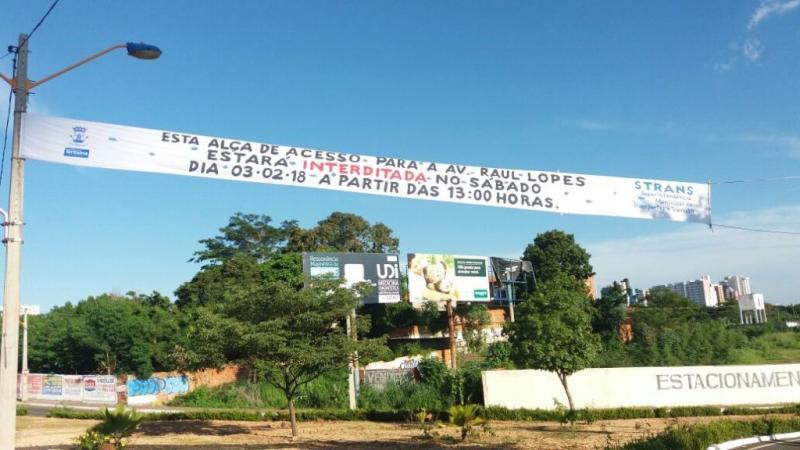 Pontes e avenida Raul Lopes serão interditadas para o Corso