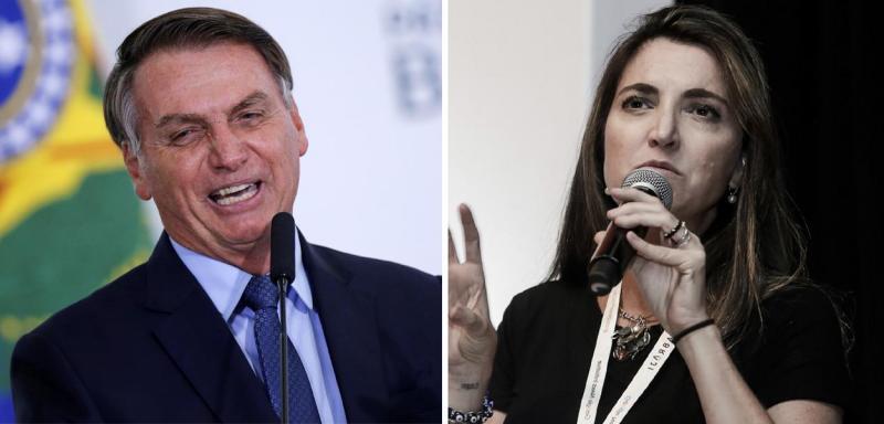 Bolsonaro insulta jornalista com insinuação sexual