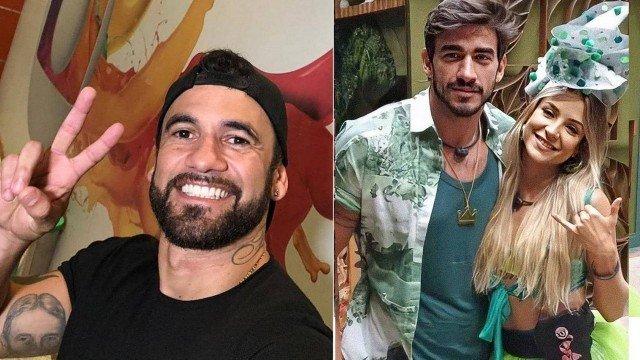 Eliminado, ex-BBB Hadson evita entrevistas e detona Gabi e Guilherme