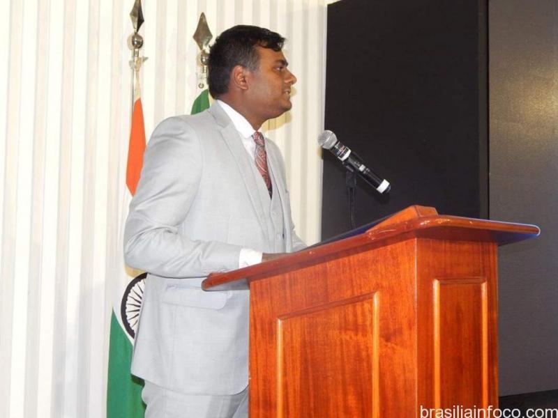 Índia recebe jornalistas brasileiros na embaixada em Brasília