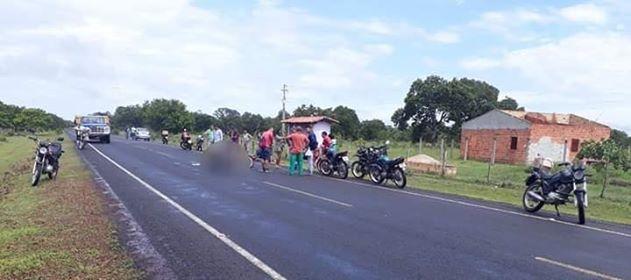 Colisão entre motos deixa uma pessoa morta na PI 111