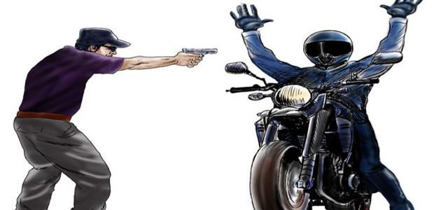 Mais uma moto é tomada de assalto na zona rural de Cabeceiras