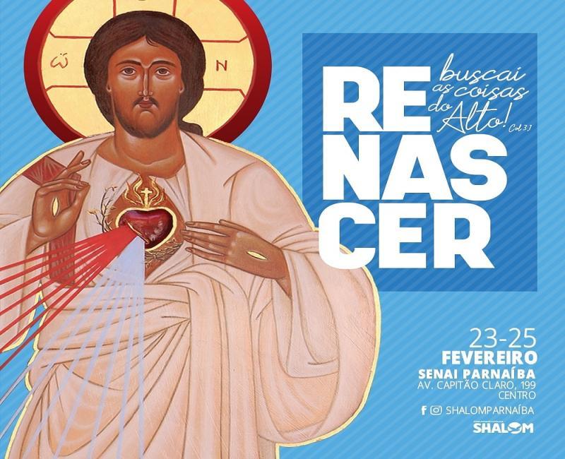 Comunidade católica Shalom realizará retiro de carnaval em Parnaíba