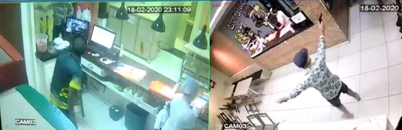 Bandido se passa por cliente e faz arrastão em lanchonete de Teresina