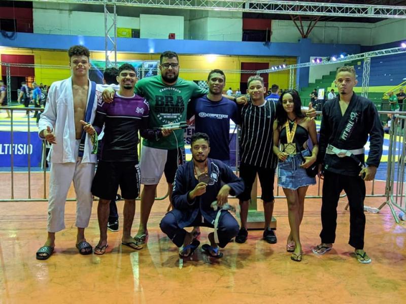 Jiu-jitsu Correntino no topo do Brasil