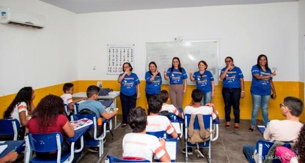 Atividades na 1ª escola Bilíngue de Timon marca abertura do ano letivo