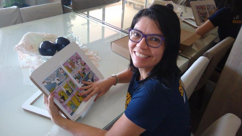 Revista em quadrinhos sobre a Constituição Federal é lançada