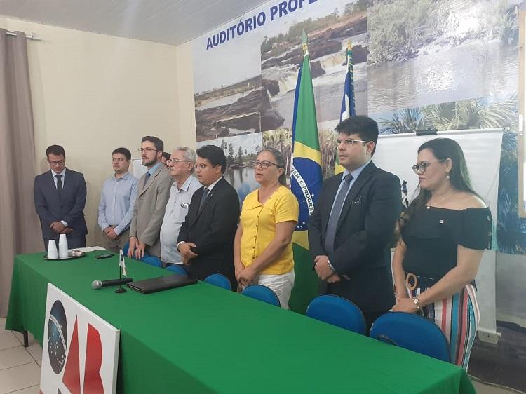 Caravana de Direito Eleitoral da OAB Piauí chega à Subseção de Barras