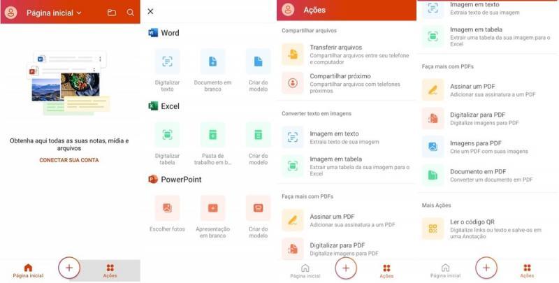 Atualização no Office para Android reúne Word, Excel e PowerPoint em app