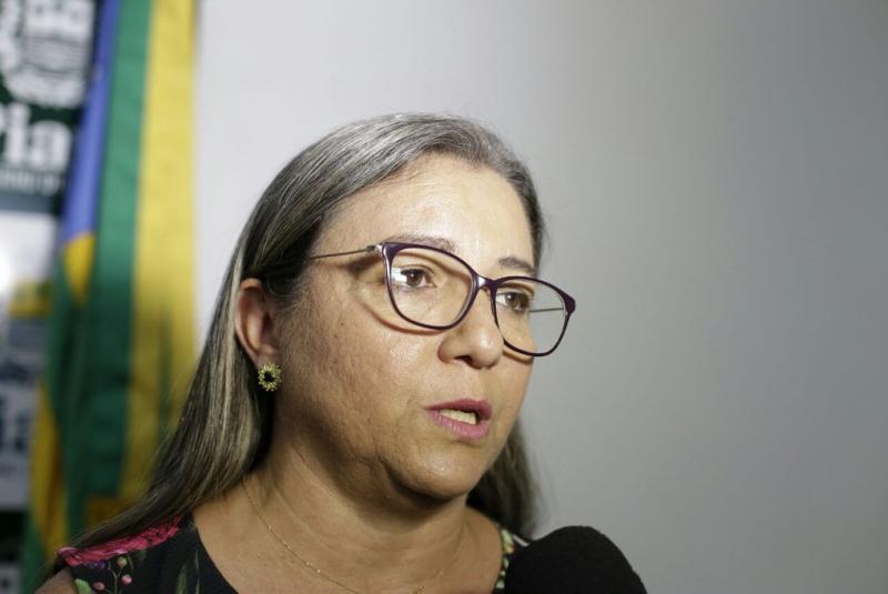 Prefeita Vilma Amorim/Foto: Marcelo Cardoso/GP1
