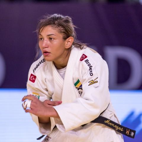 Sarah Menezes estreia no Grand Slam de Düsseldorf nesta sexta