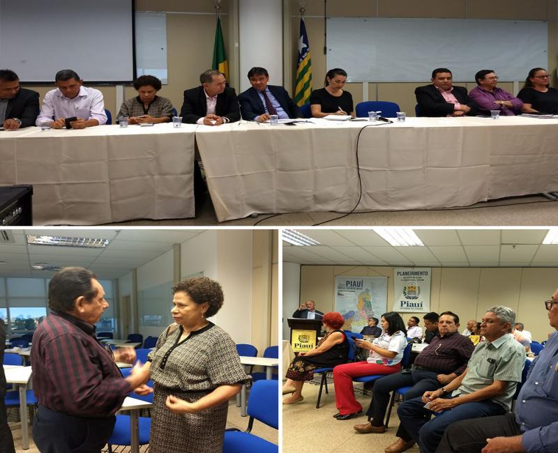 Prefeito de Uruçuí participa de reunião do CEDS