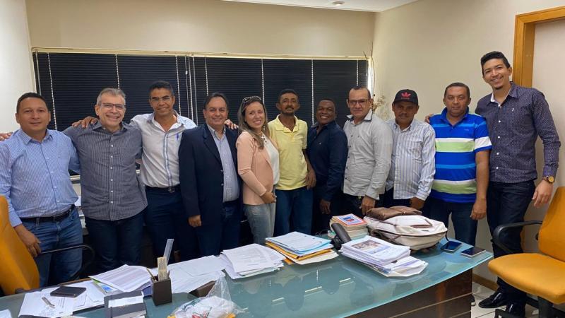 Oposição de Alvorada do Gurguéia se reúne com ex-senador João Vicente