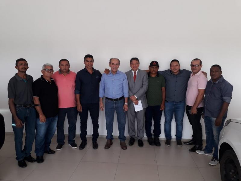 Oposição de Alvorada do Gurgueia se reúne com Governador Wellington Dias
