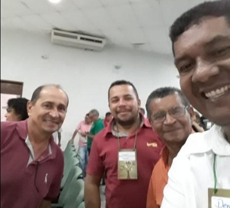 Ver. Coca do Matapasto participa de encontro político na FETAEMA