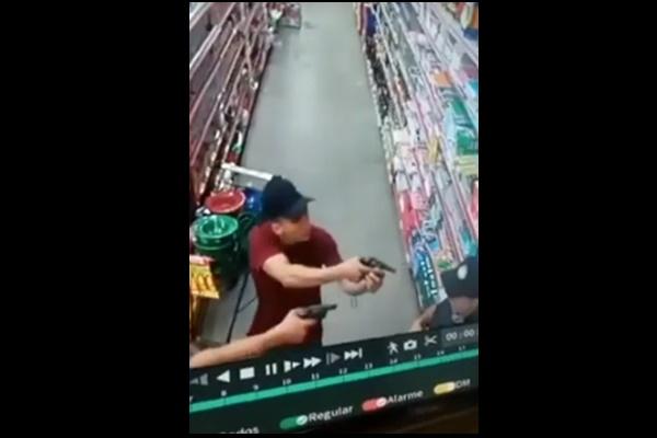 Dupla rouba arma e colete balístico de vigia em Teresina