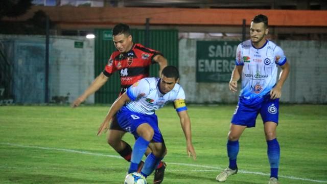 Parnahyba sai na frente, mas Flamengo pressiona e garante o empate