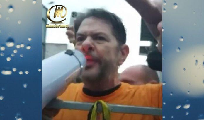 Vídeo mostra Cid Gomes sendo agredido com um soco antes de ser baleado