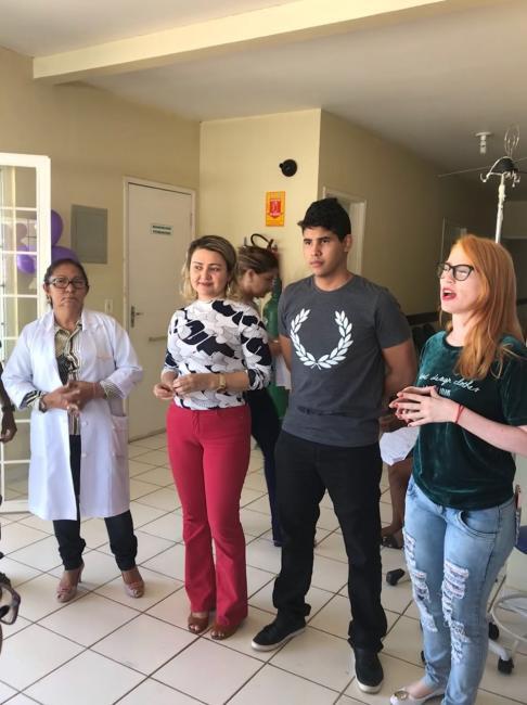 Profissionais de saúde realizam reunião em alusão à Campanha Janeiro Roxo